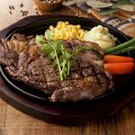 ハンバーグ&ステーキ食堂 KURAUZO - サーロインステーキ