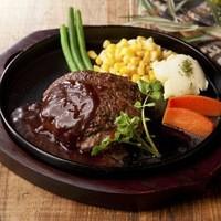 ハンバーグ&ステーキ食堂 KURAUZO - 肉汁たっぷり!究極の鉄板焼きハンバーグ
