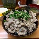 吉祥寺どんぶり - ネギ塩牛カルビ丼です!