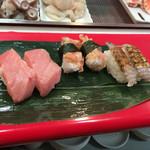 さくら寿司 - 中トロ 貝ひも シャコ