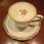 カフェレジャン珈琲舎のだ - ウィンナーコーヒー 730円(税別)
