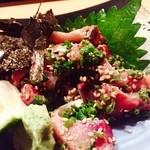 ふぐ・いか・和食英二楼 - 『ゴマ鯖』様、遠方からのお客様が必ず食べたくなる一品♪