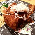 ふぐ・いか・和食英二楼 - やはり定番で旨い魚のから揚げキング!!!