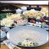 Kaisendokorokaitenzushikaito - 料理写真:海人とらふぐ鍋コース 5900円(税別)