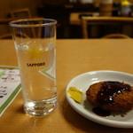 佰圓屋 いし河 - 2016.03 冷酒もすっきり味でしたが108円