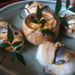 48616711 - 炙りコノシロ寿司 1050円