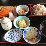 そば処 案山子 - 日替わり昼飯 750円 このボリュームで750円は立派!