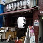 秋葉原漁港 快海 - 「快海」店構え