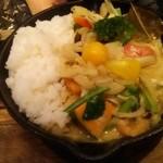 野菜を食べるカレー camp - タイカレー