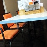 藤かつ - テーブル席