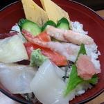 シゲちゃんすし - 生ちらし700円