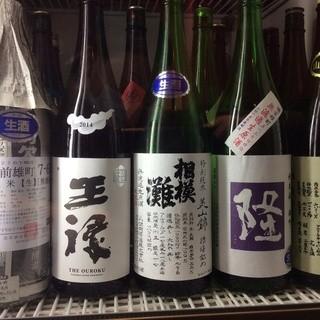 ≪日本酒≫自慢のラインナップ♪350円〜p(^_^)q
