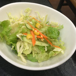 櫻庵 - セットのサラダ