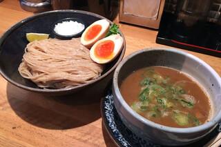 麺匠 たか松 本店 - つけ麺(2016/3月撮影)