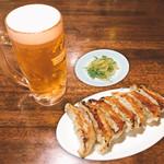 珉珉 - 生ビール餃子セット