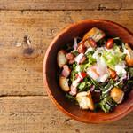Rolling Roast Chicken - シーザーサラダ