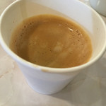 カリ~ アンド スパイスバル カリ~ビト - ランチタイムサービスのコーヒー
