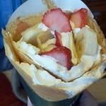 48627794 - 「チョコいちごバナナクリーム」530円