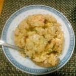麺屋紅葉 - 半チャーハン
