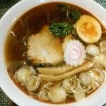 麺屋紅葉 - 醤油ラーメン