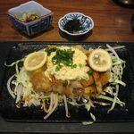 48629820 - 宮崎名物チキン南蛮膳のアップ(2015.11)