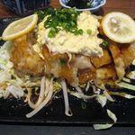 48629821 - 宮崎名物チキン南蛮膳の鶏アップ(2015.11)