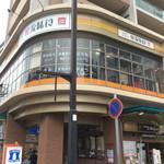 韓館 - 店舗外観。新長田駅から見えるビルの2階。外観もいい。