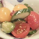 あさと - タコと野菜のマリネ