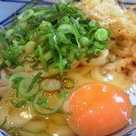 丸亀製麺 - 釜玉うどん