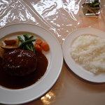 レストラン シャレー - デミグラスハンバーグ