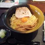 麺工房 茜 - かま玉ラーメン 700円