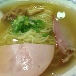 中華四川料理 もりた - 透明なスープと半透明の麺