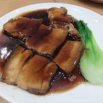 崎陽軒 中華食堂 - 楓セットの豚バラ肉の煮込み