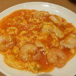 崎陽軒 中華食堂 - 楓セットの小海老と玉子のチリソース