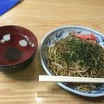 甘味処 山口家本店 - 焼きそば(400円)