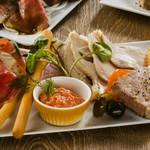キリンシティ - ビアレストランの前菜盛り合わせ