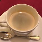 キッチン フタバ - コースのコーヒー(または紅茶)
