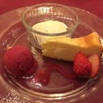 キッチン フタバ - 3240円コースのデザート
