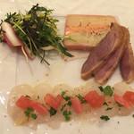 キッチン フタバ - 3240円コースの前菜(エビカニ抜き)