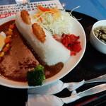 カタクリの花 - 小河内ダムカレー1,000円