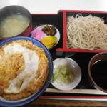 習志野庵 - 料理写真:たぬき丼セット¥1000-