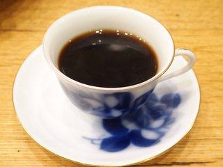 れいの - ブレンド 570円 の2~3年の熟成豆を使い深煎りのコクあるコーヒー