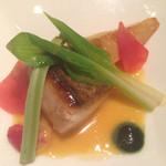 48645529 - 4品目.鯛の料理