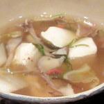 両川 - 豆腐汁