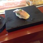 奴寿司 - アジ(柚子胡椒)