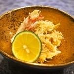 棗 - 料理写真:毛蟹 味噌和え