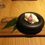 48649774 - ホワイトチョコ  桜  抹茶
