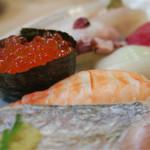阿波水産 - お寿司アップで