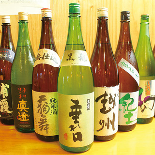 『唎酒師』が厳選した渾身の日本酒をご堪能ください!