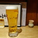 こな吉 - 2016.03 生ビール(570円)